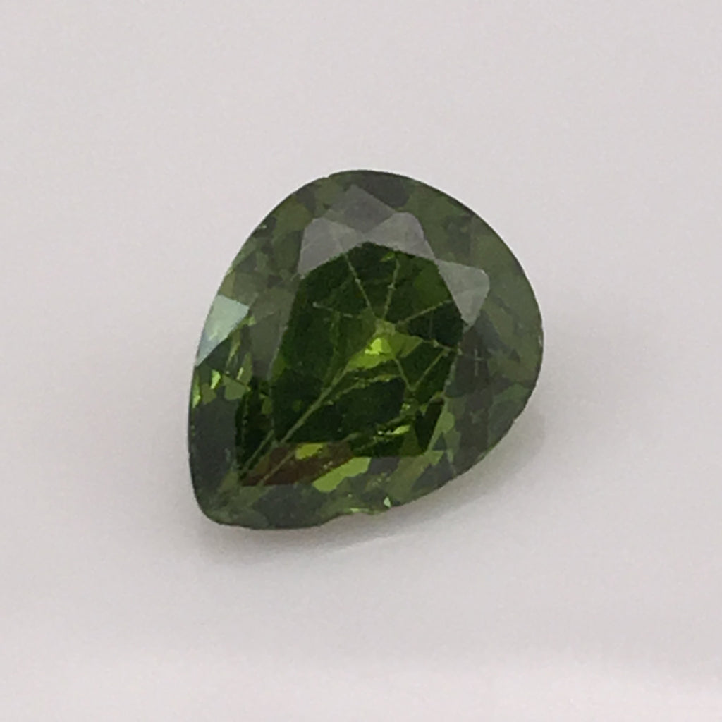 4.7 carat Green Fire Zircon - Colonial Gems