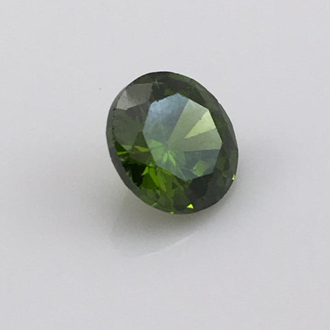 4.7 carat Green Zircon Gemstone - Colonial Gems