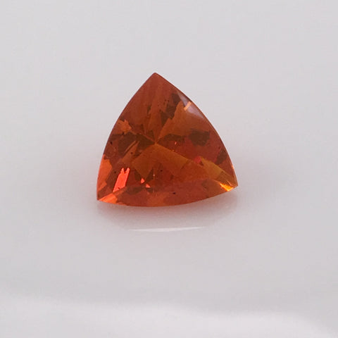 3.3 carat Fire Opal Trillion Gemstone - Colonial Gems