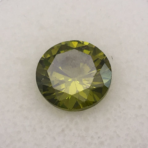 4.8 carat Mint Green Zircon gemstone - Colonial Gems