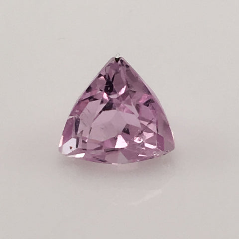 4.5 carat Trillion cut African Kunzite Gem - Colonial Gems