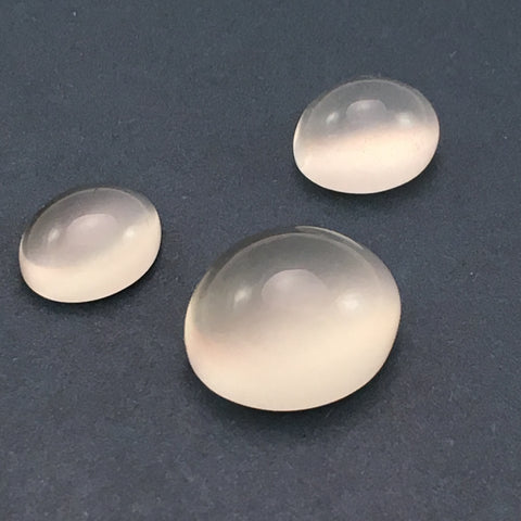 15 carat Set of White Moonstone Gems - Colonial Gems