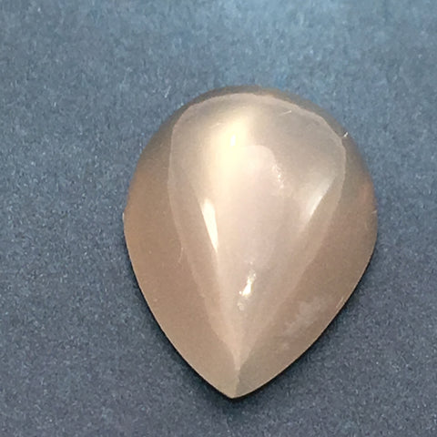 8 carat Grey Moonstone Cats Eye Gem - Colonial Gems