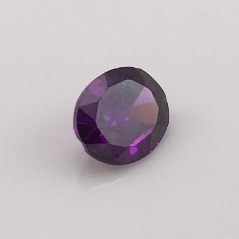 5.7 carat Purple Flash Zircon Gemstone - Colonial Gems