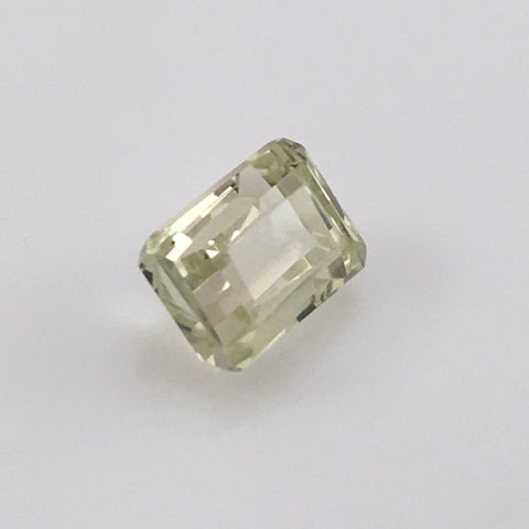 5 carat green Hiddenite Gemstone - Colonial Gems