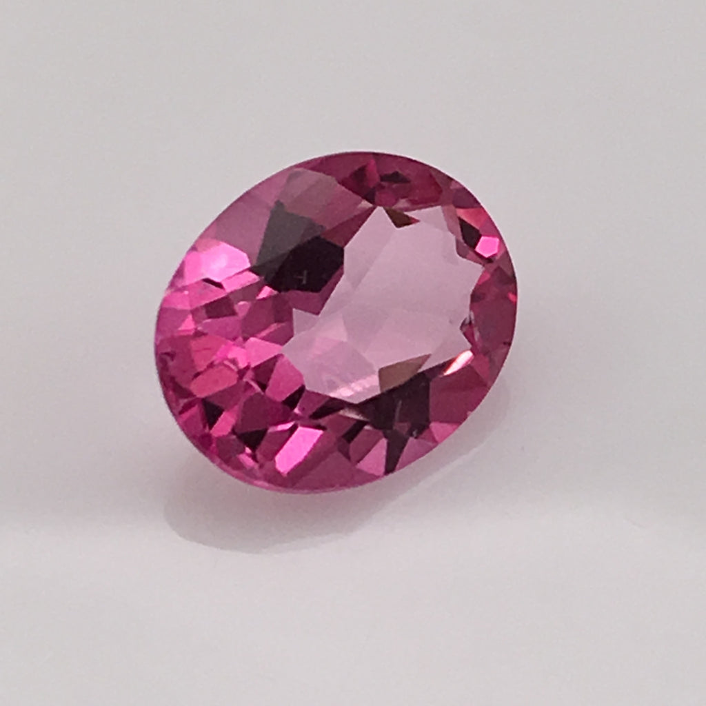 3.6 carat Hot Pink Topaz Gemstone - Colonial Gems
