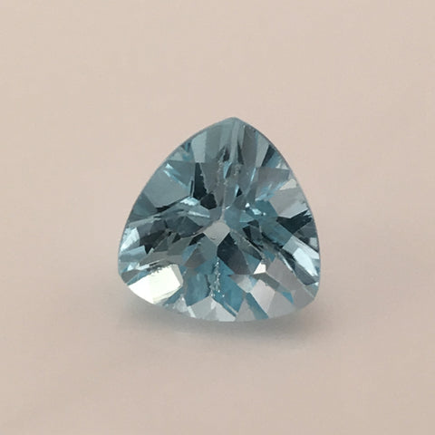 7.5 carat Blue Swiss Trillion Topaz Gem - Colonial Gems