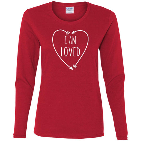 I Am Loved Ladies' Long Sleeve T-Shirt