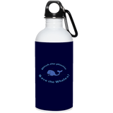 Ditch The Plastic - Save The Whales Stainless Steel Water Bottle