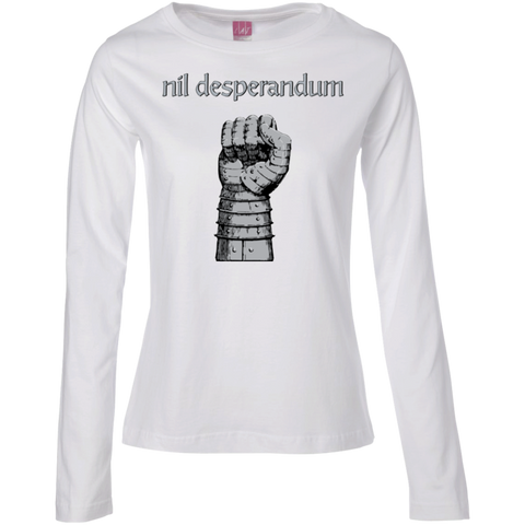 Nil Desperandum Ladies' Long Sleeve T-Shirt