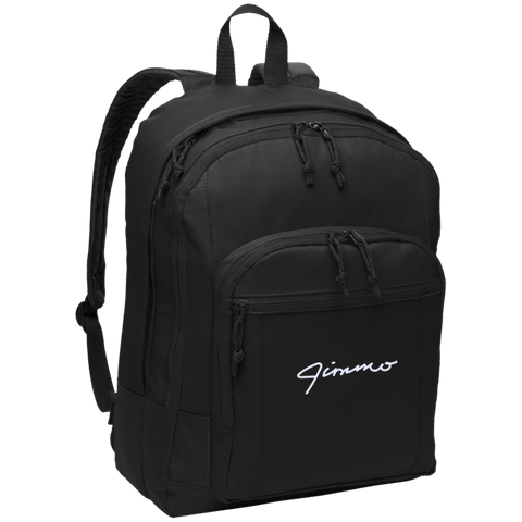 Jimmo Signature Embroidered Backpack