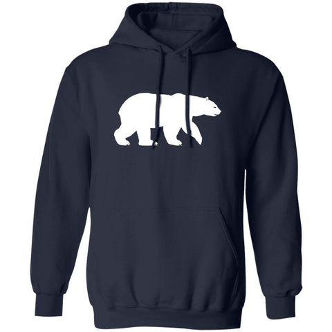Polar Bear Unisex Pullover Hoodie For Nature Lovers