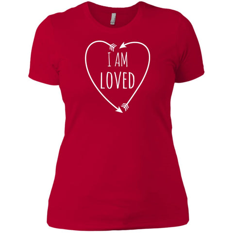 I Am Loved Ladies' Short Sleeve T-Shirt