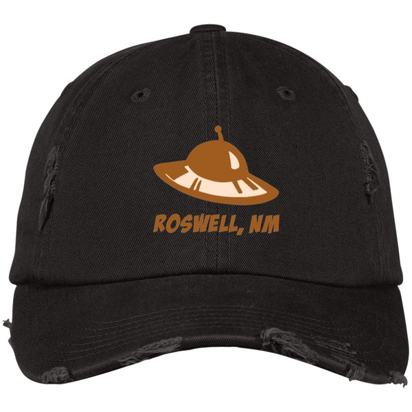 Roswell UFO Distressed Cap