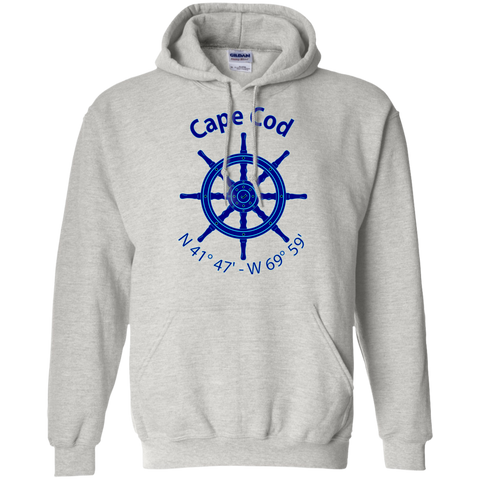 Cape Cod Nautical Coordiantes Unisex Hoodie
