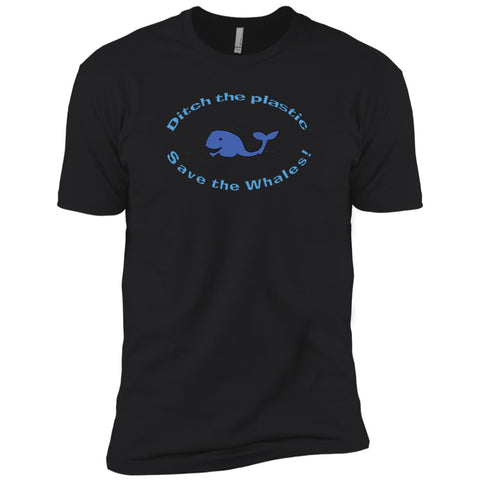 Ditch The Plastic Environmental Awareness Boys' T-Shirt