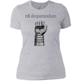 Nil Desperandum Short Sleeve Ladies' T-Shirt