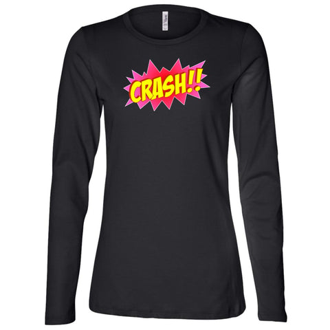 Crash!! Ladies' Long Sleeve Festival T-Shirt