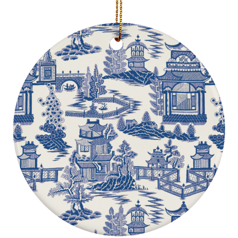 Ming China Ceramic Chinoiserie Ornament