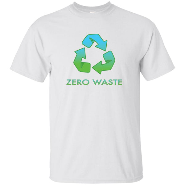 Zero Waste Recycle Symbol Earth Day T-Shirt (Unisex)