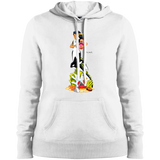 David R. Deitrick's Ceti Myrmaid Ladies' Pullover Hoodie