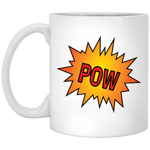 POW! - Mug For Comic Art Lovers