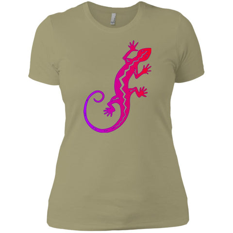 Ombre Gecko Southwestern Native Art Ladies' T-Shirt