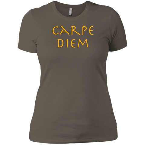 Carpe Diem Short Sleeve Ladies' T-Shirt