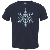 Frozen Icy Snowflake Toddler T-Shirt