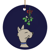 Cat And Mistletoe Limited Edition Christmas Ornament