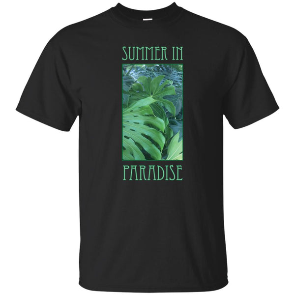 Summer In Paradise Tropical Foliage T-Shirt (Unisex)