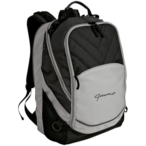 Jimmo Signature Embroidered Laptop Computer Backpack