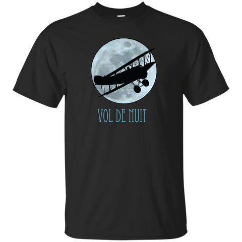 Vol De Nuit Short Sleeve T-Shirt For French Literature Lovers (Unisex)