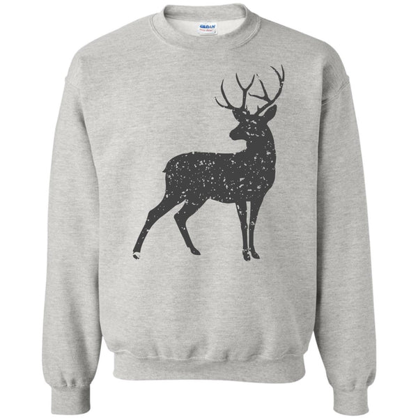 Stag of the Season Animal Print Sweatshirt