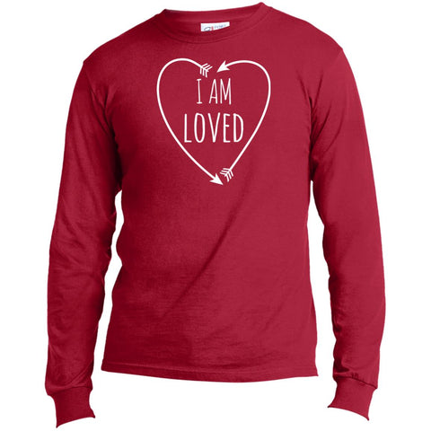 I Am Loved Long Sleeve Men's Love T-Shirt