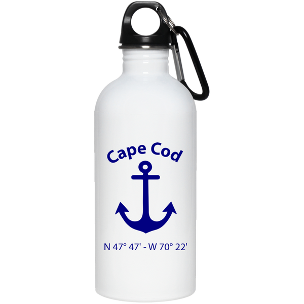 Cape Cod Anchor Stainless Steel Water Bottle