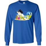 David R. Deitrick's Caribe Myrmaid Long Sleeve T-Shirt (Unisex)