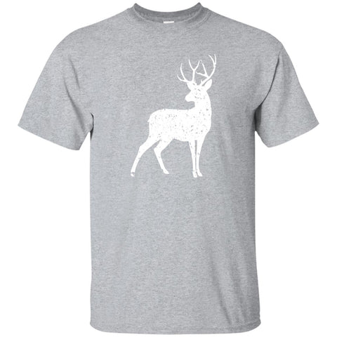 White Stag Of The Season Short Sleeve T-Shirt (Unisex)