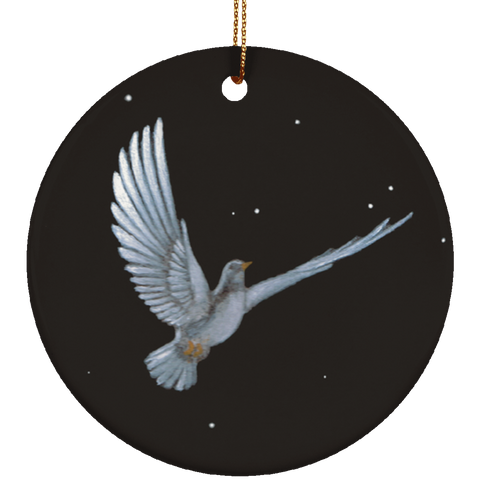 Christmas Dove Limited Edition Ceramic Ornament