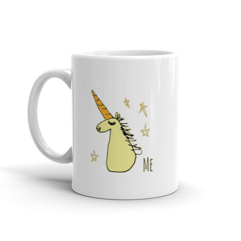 Jimmo Designs original You and Me - Funny Unicorn Magic Mug for unicorn lovers. A lovely unicorn mug for the whole family. Some of us are unicorns, others aspire to be. No matter on which side of this mug you might find yourself, there will be sparkles in your beverage.