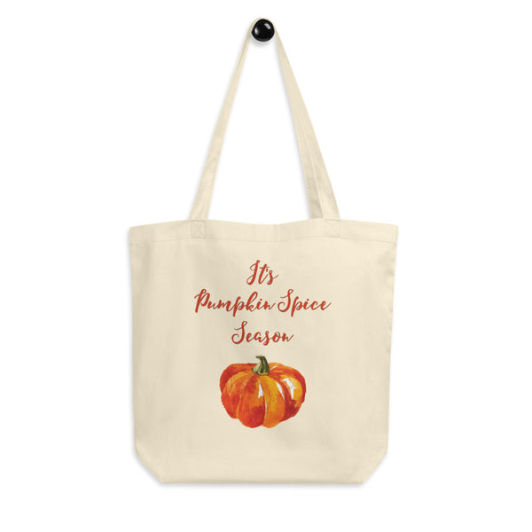 It's Pumpkin Spice Season! Enjoy the beauty of Pumpkin Spice Season and help save the planet at the same time with this beautifully designed reusable shopping tote bag for pumpkin spice lovers. Perfect autumn gift for women, men, and kids.