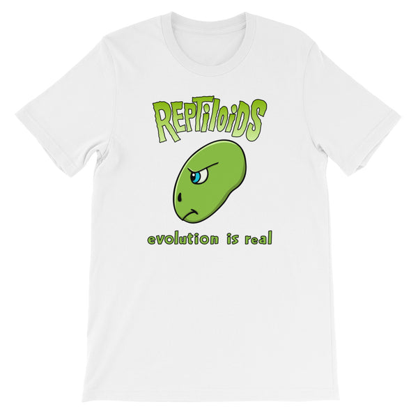 Reptiloids! Funny Science Fiction Short-Sleeve T-Shirt (Unisex)