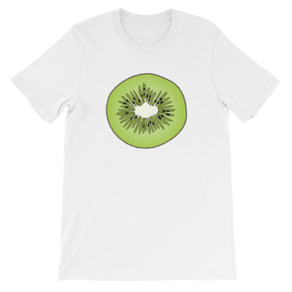 Slice Of Kiwi Unisex Short Sleeve T-Shirt For Fruit Lovers