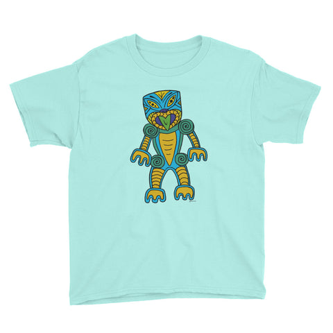 Maori Tiki - Youth Short Sleeve T-Shirt