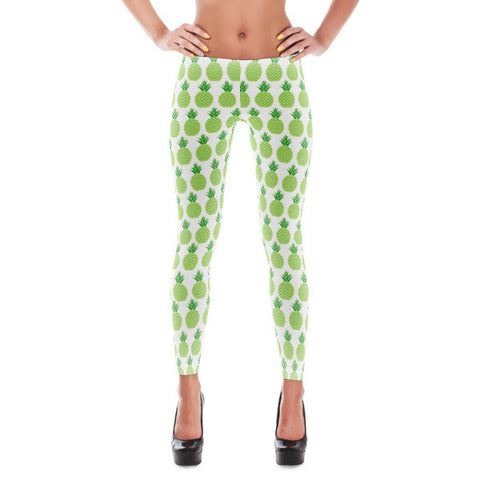 Pineapple Obsession Pineapple Art Leggings