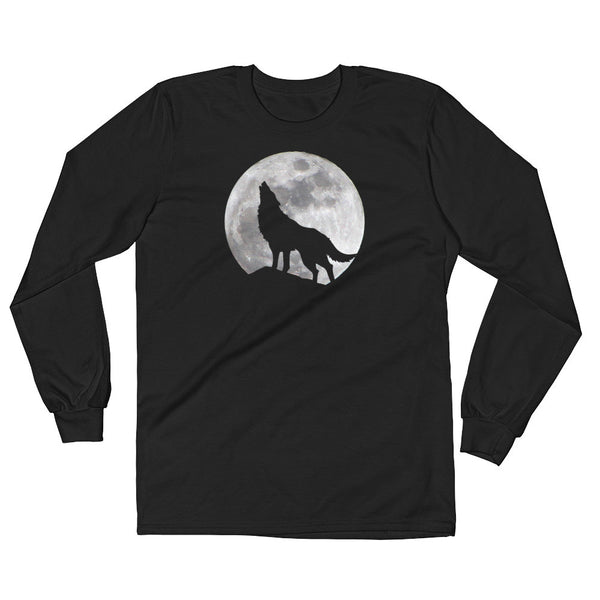 The Wolf Moon - Long Sleeve T-Shirt (Unisex)