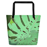 Tropical Dream Jungle Camouflage Beach Bag