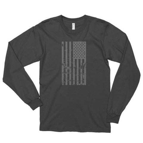 Old Glory Still Waves Patriotic Long Sleeve T-Shirt (Unisex)