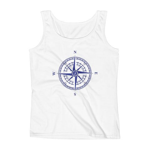 Compass Rose - Ladies' Nautical Tank Top