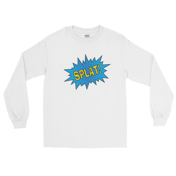 SPLAT! The Old School Emoticon - Long Sleeve T-Shirt (Unisex)